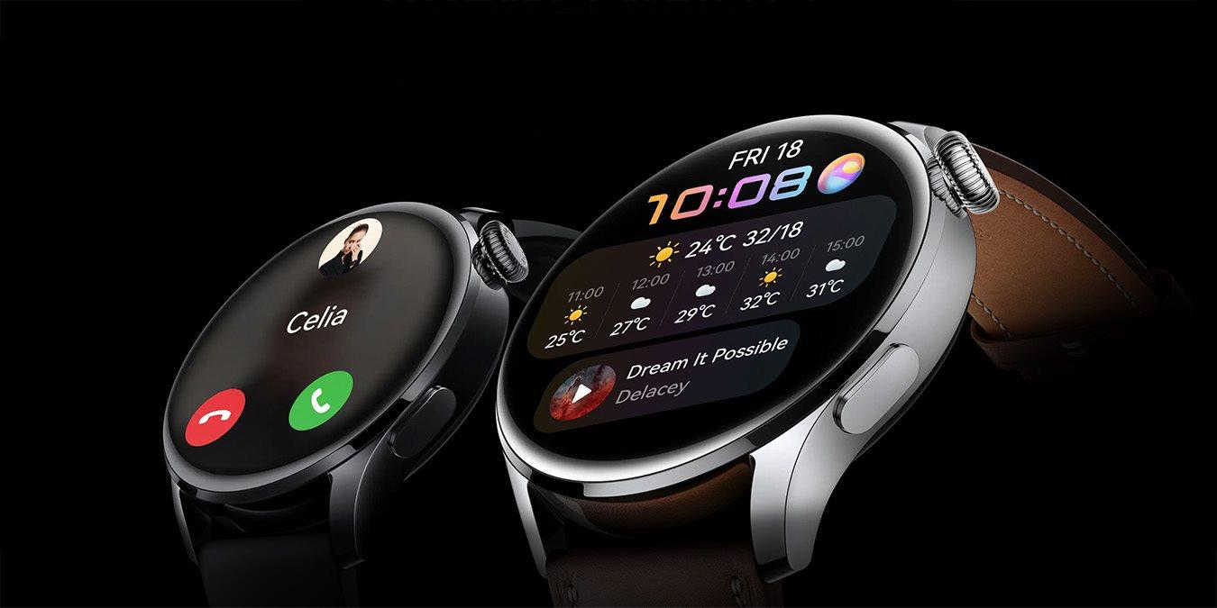 Magyarországon is kapható lesz a legújabb Huawei Watch 3 okosóra széria